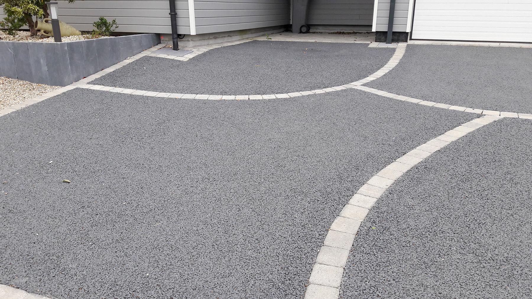 Allee En Beton Drainant aménagement de cour en béton drainant | paysages conseil