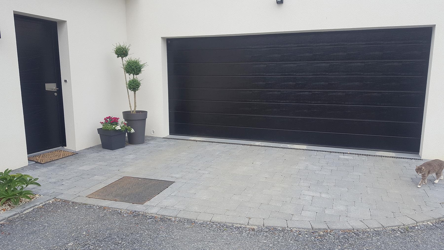 Allée De Garage En Béton Drainant aménagement allée de garage - entreprise aménagement d'allée