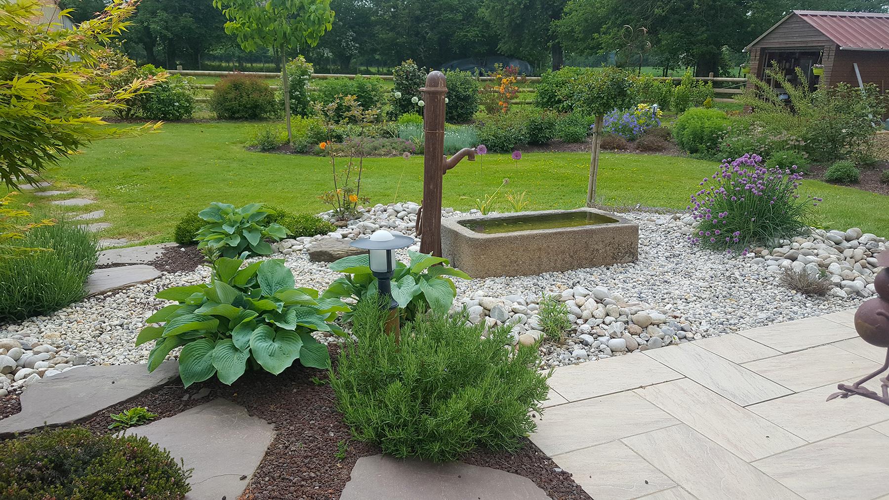 Bassin Fontaine De Jardin fontaine de jardin - fontaine extérieur | paysages conseil