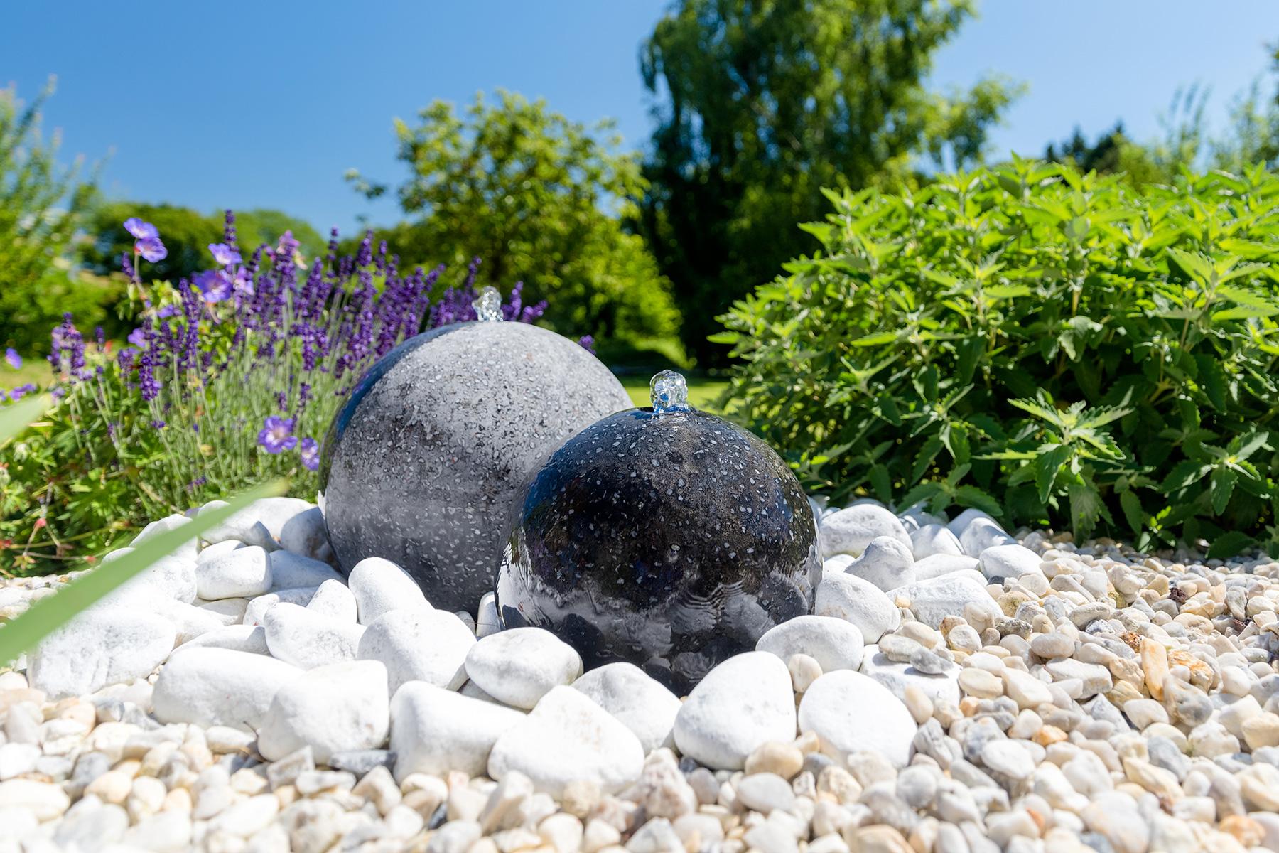 Amenagement Exterieur Jardin Avec Galets fontaine de jardin - fontaine extérieur | paysages conseil