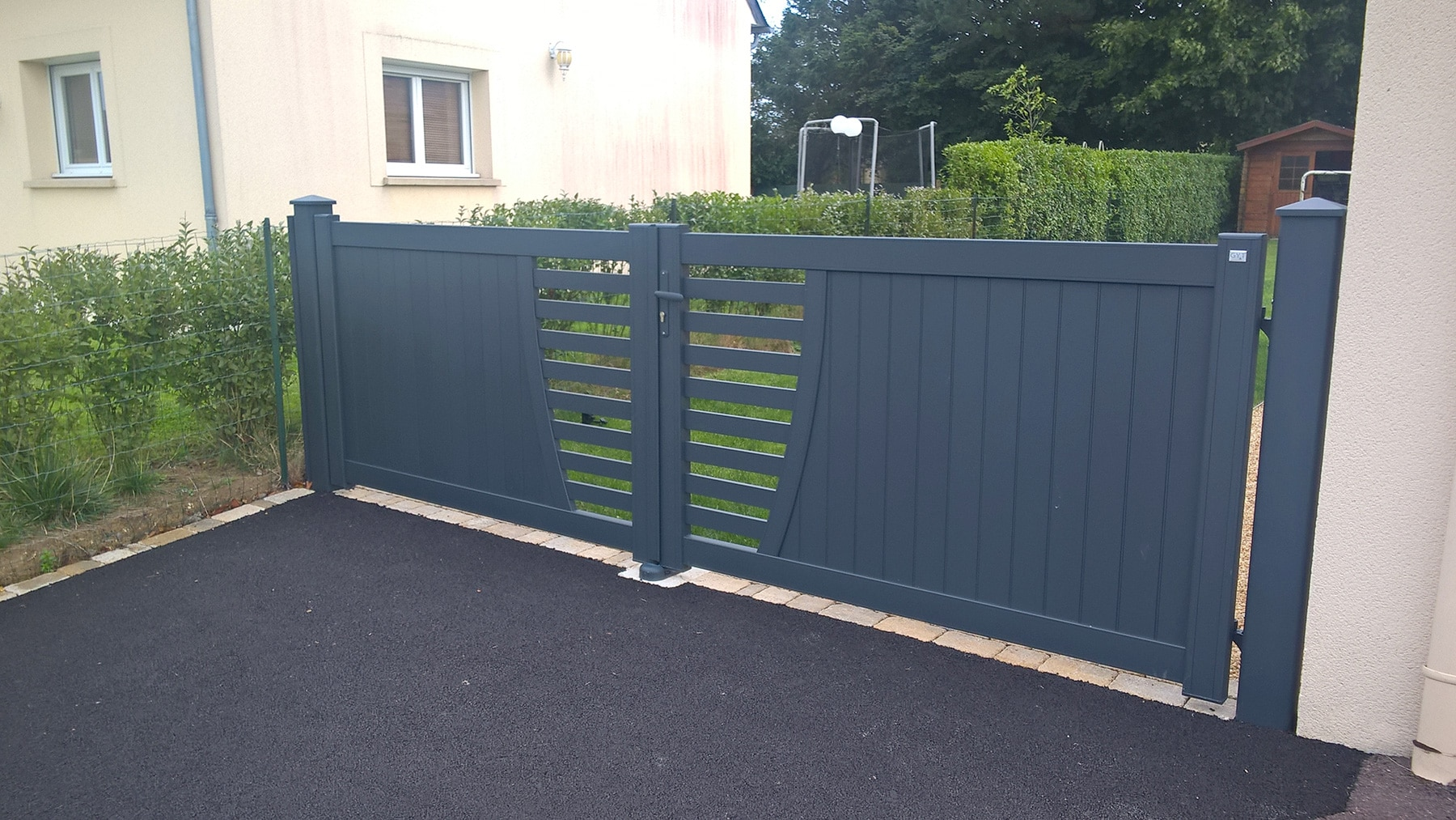 Portail & portillon PVC