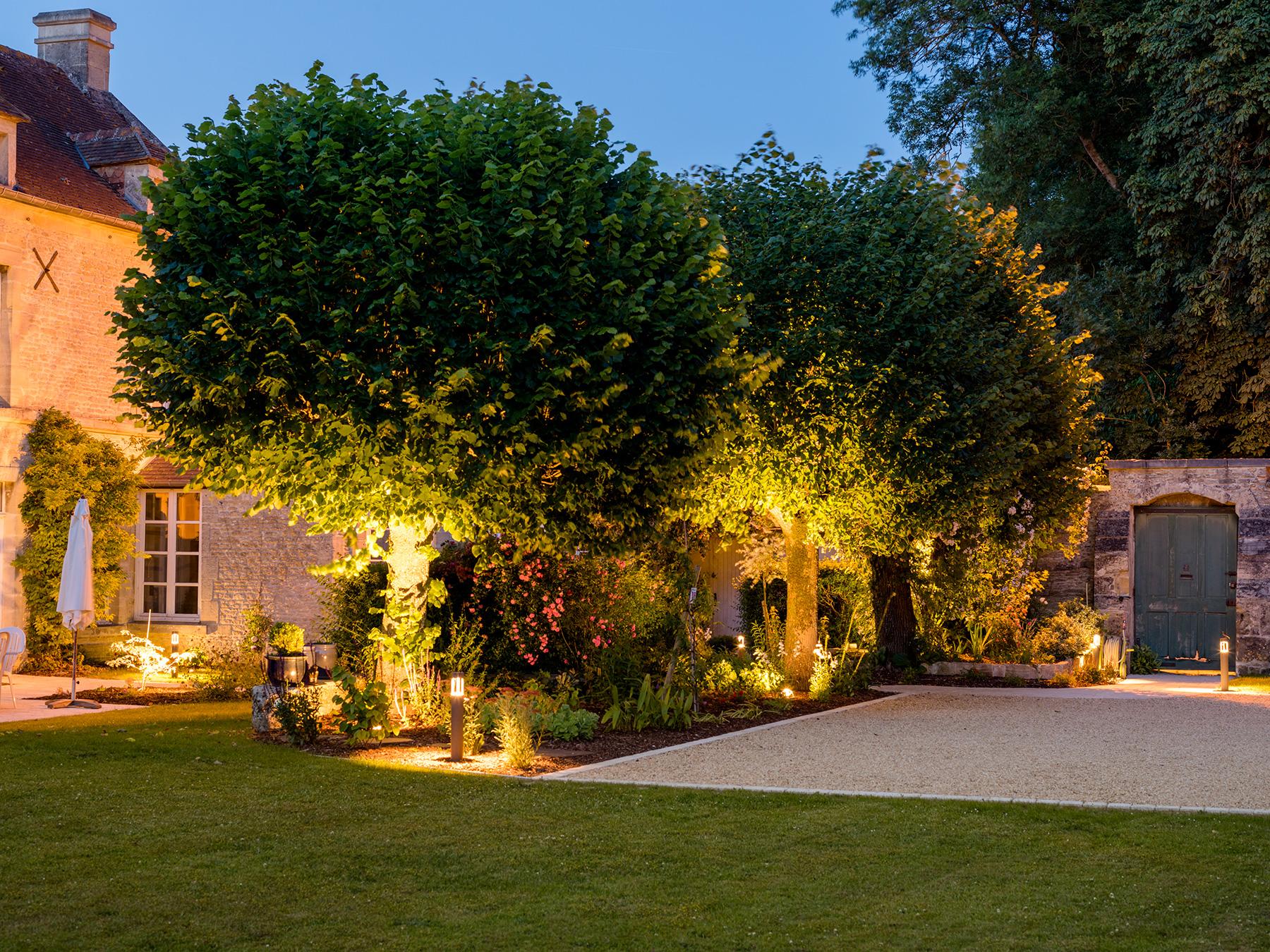 Jardin Sur Une Terrasse eclairage exterieur terrasse - eclairage exterieur led