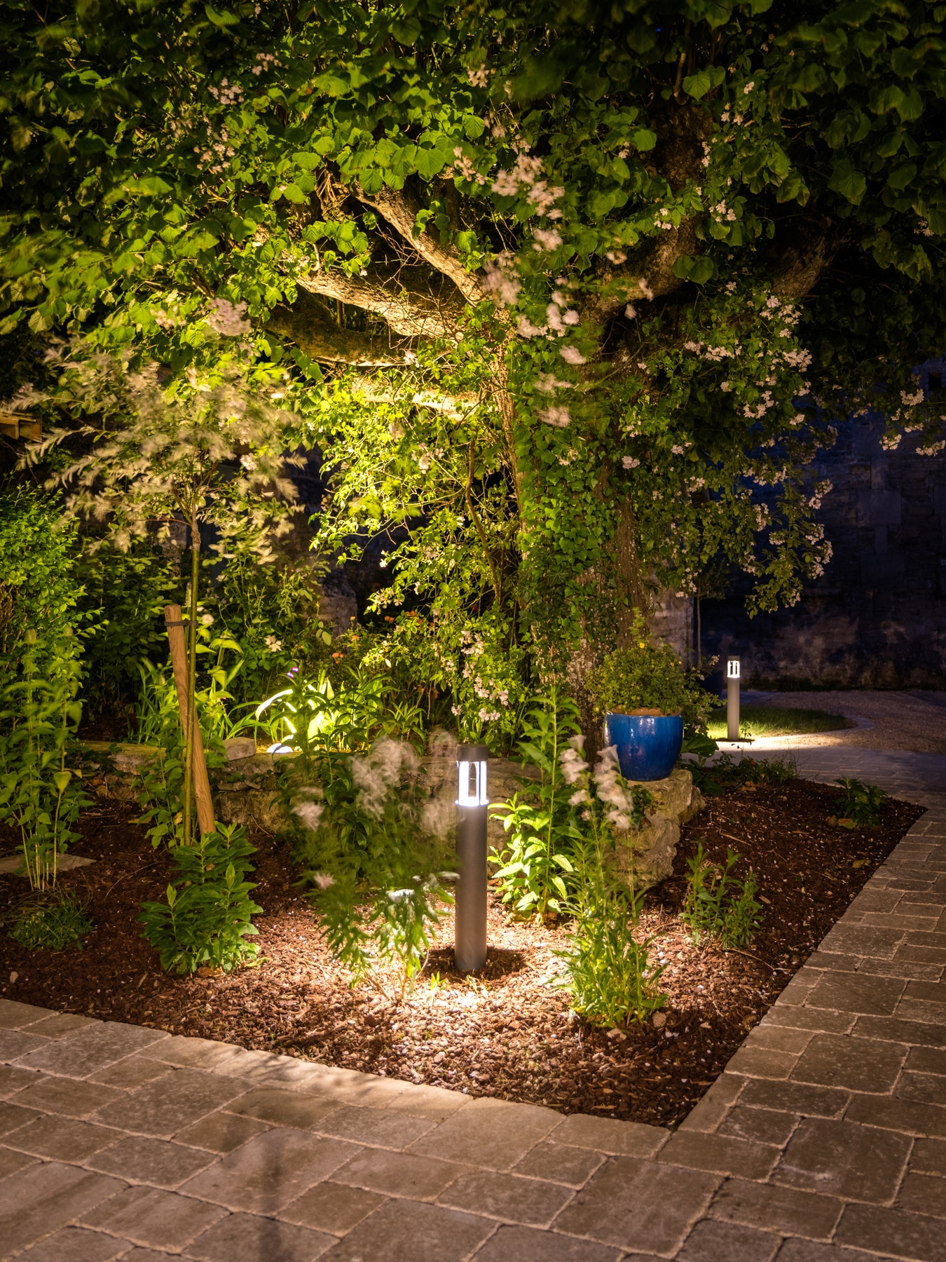 Eclairage exterieur jardin - Eclairage de jardin   Paysages ...