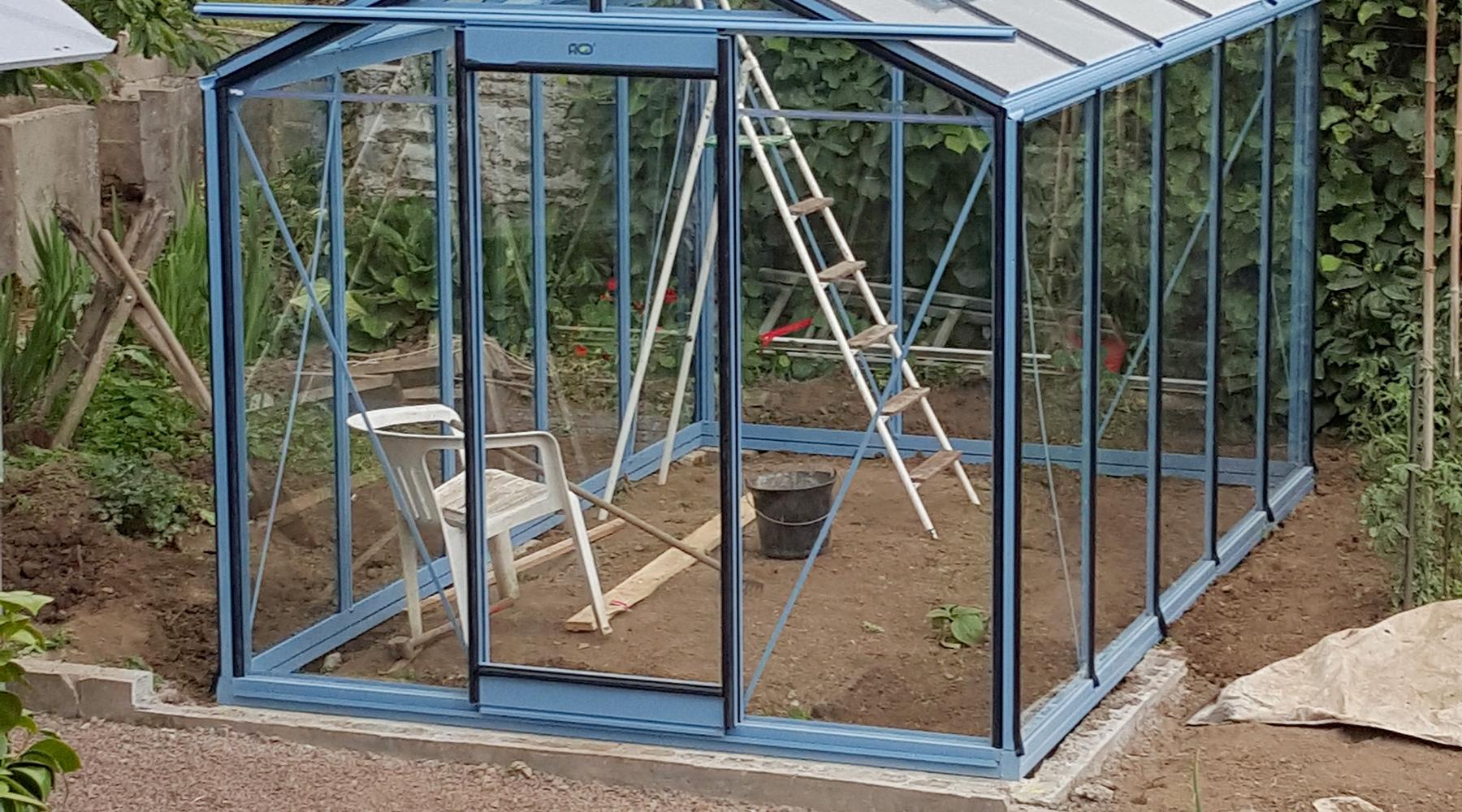 Serre de jardin - Installation de serre de jardin | Paysages ...
