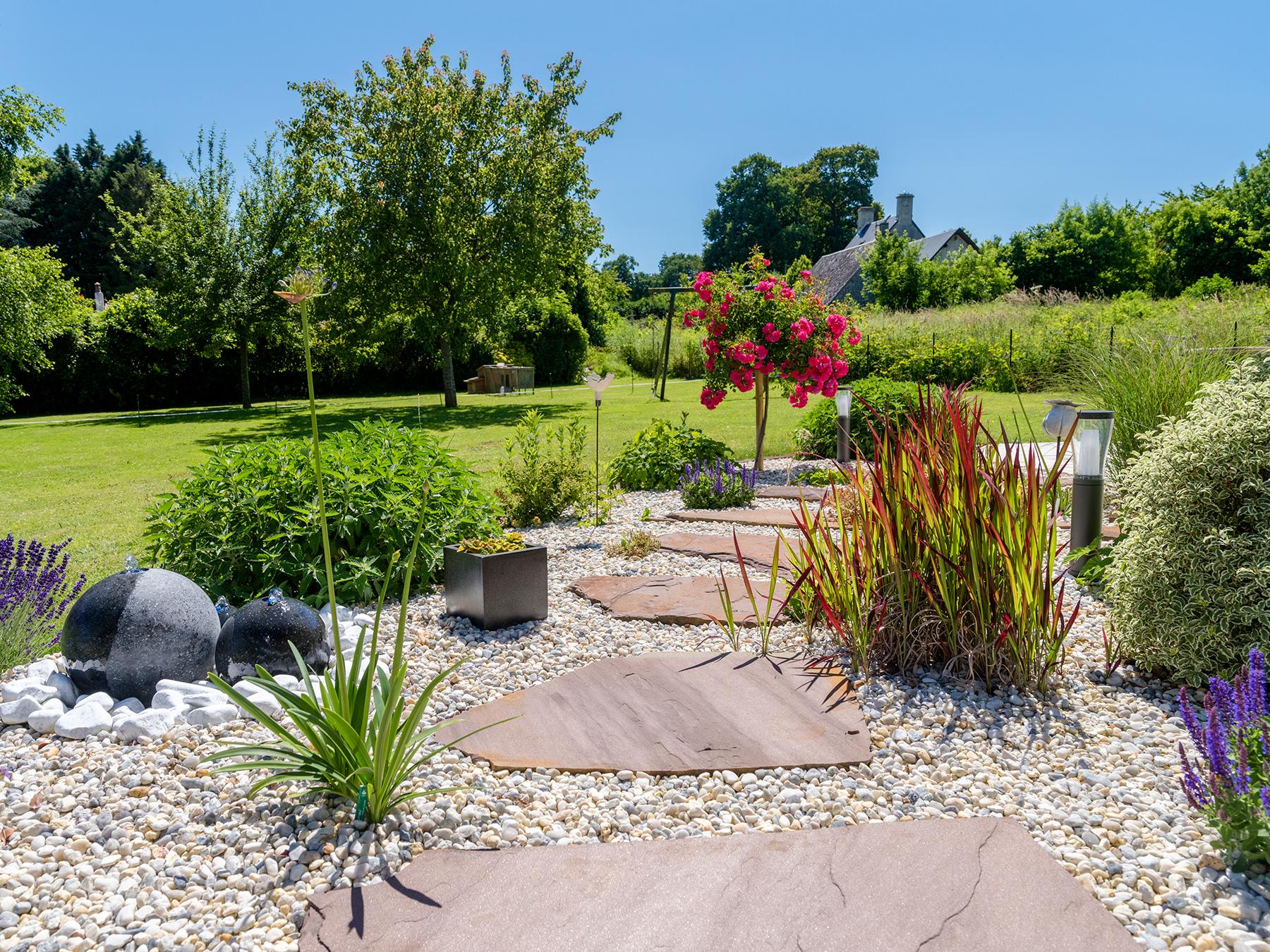 Pas japonais - Aménagement de jardin japonais | Paysages Conseil