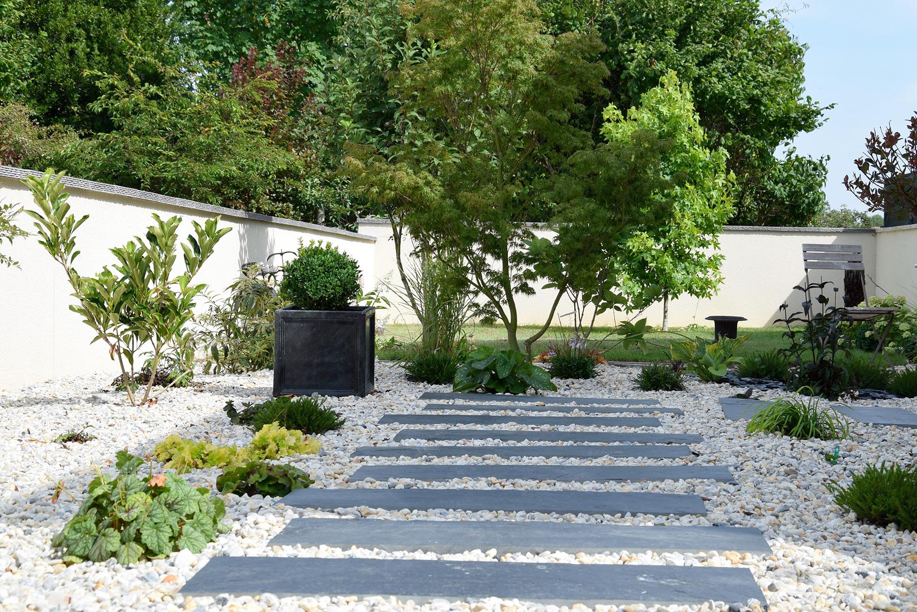 Allée En Pas Japonais pas japonais - aménagement de jardin japonais | paysages conseil