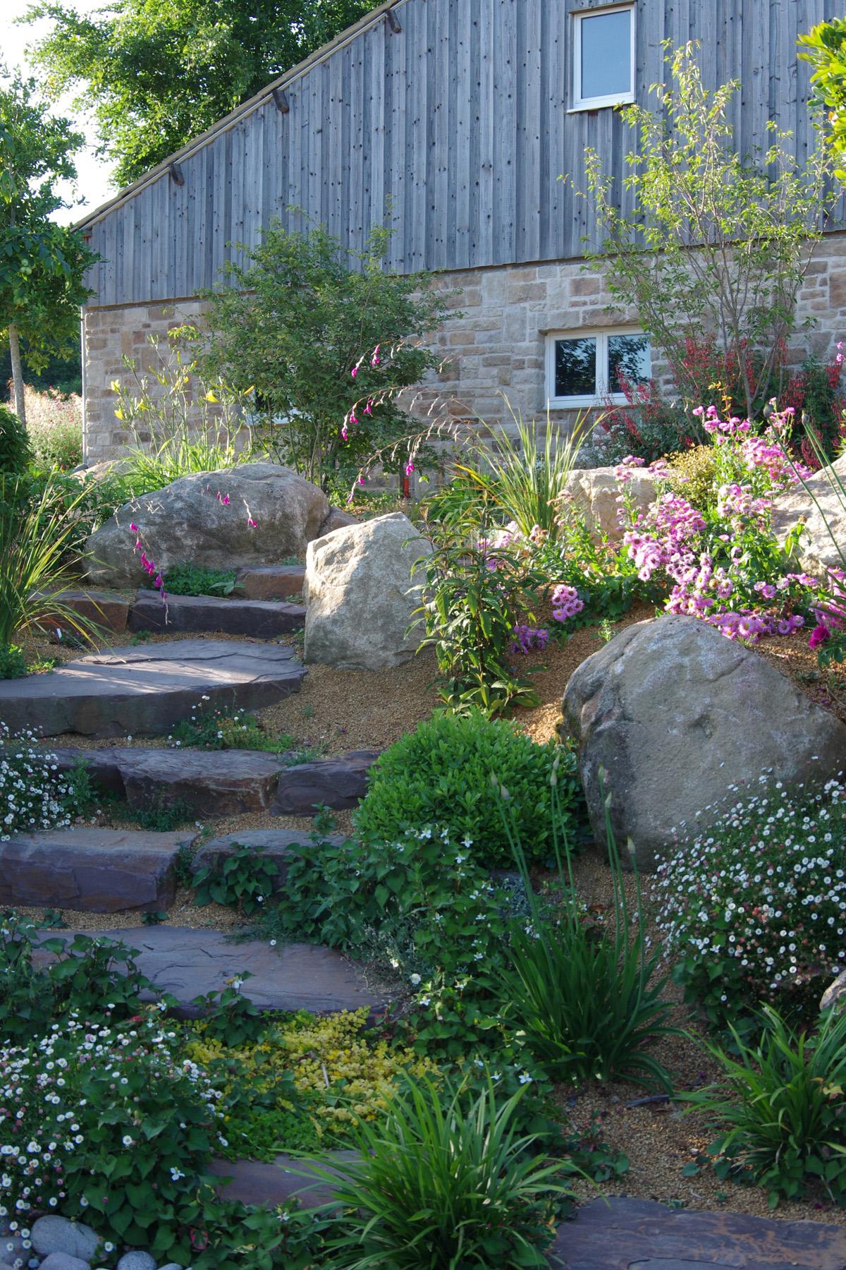 Rocaille de jardin - Plante de rocaille | Paysages Conseil