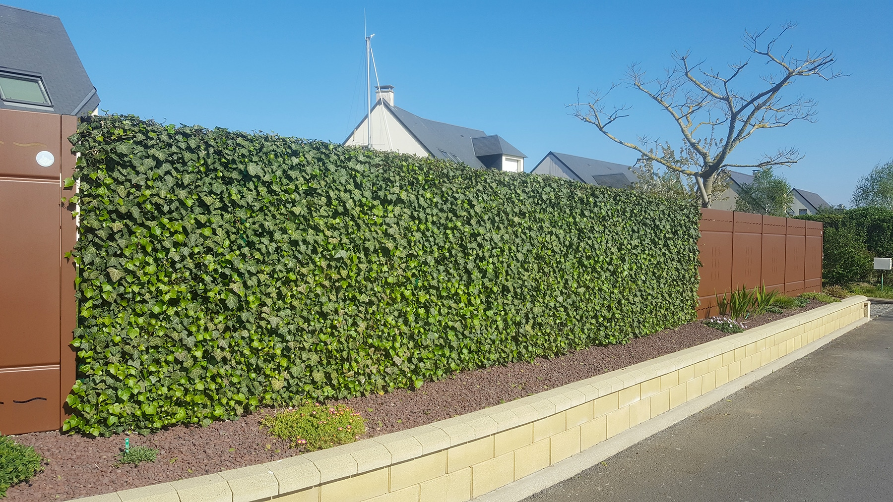 Cloture de jardin - Pose de cloture Calvados | Paysages Conseil