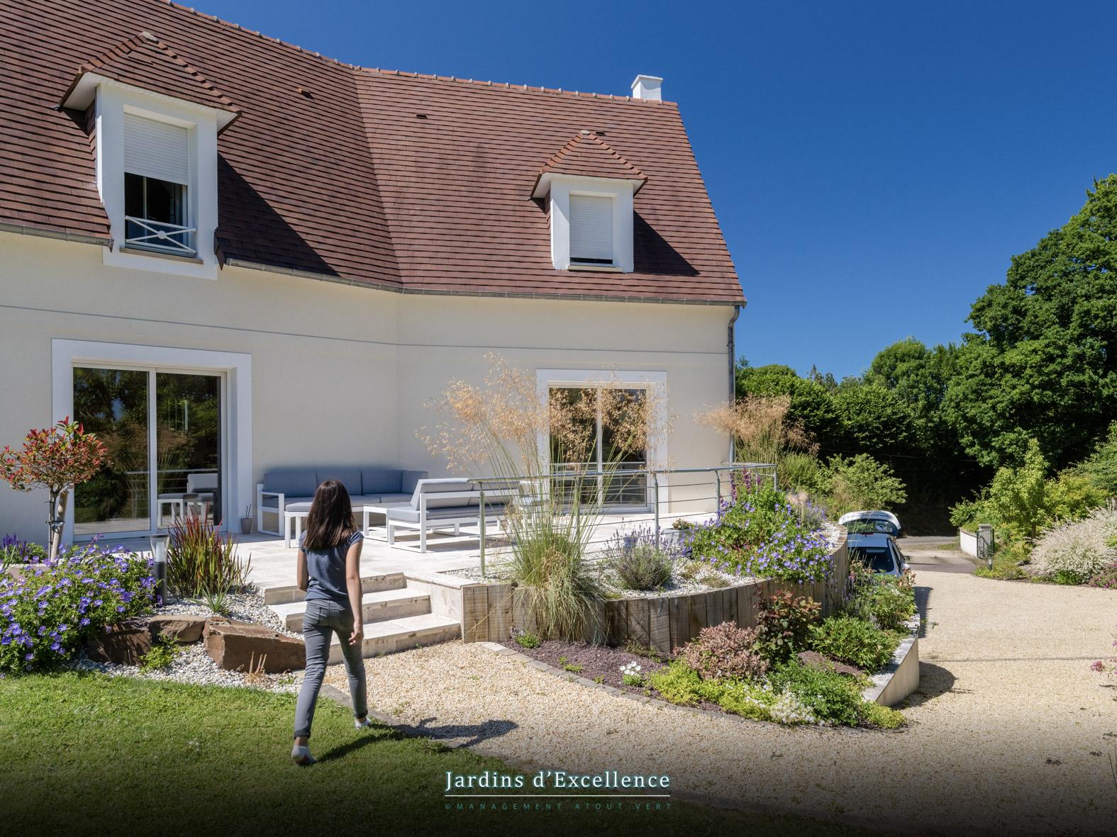 Une terrasse unique, Calvados
