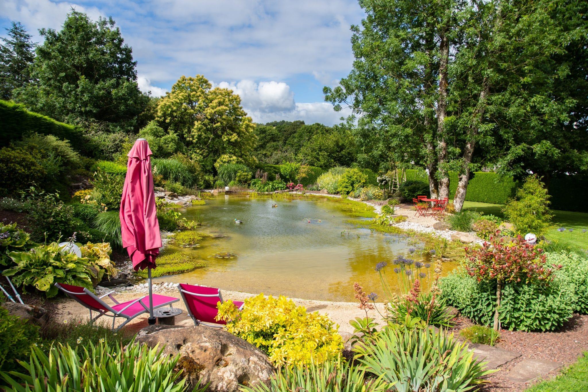 Un bassin pour le repos, Orne